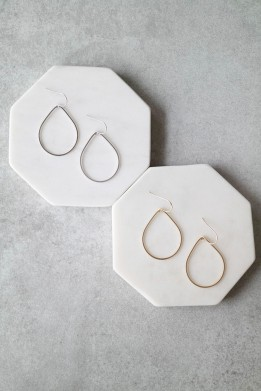 teardrop earrings | elisabeth ashlie